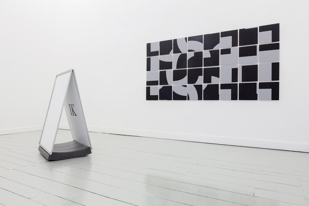 (2) ICH, Acrylpaint on canvas, aluminium, 2019, 270 x 134cm